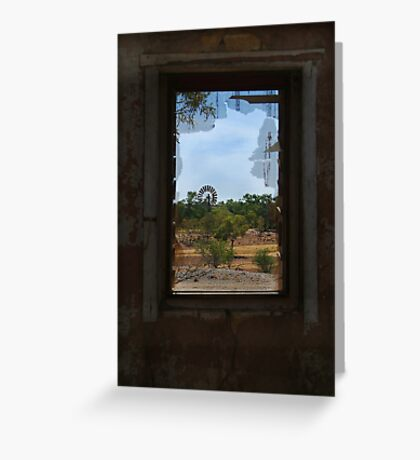 Ruin,Old Cork Station, Outback Queensland Greeting Card