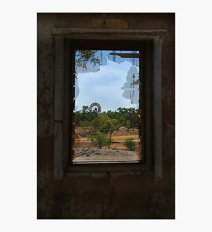 Ruin,Old Cork Station, Outback Queensland Photographic Print