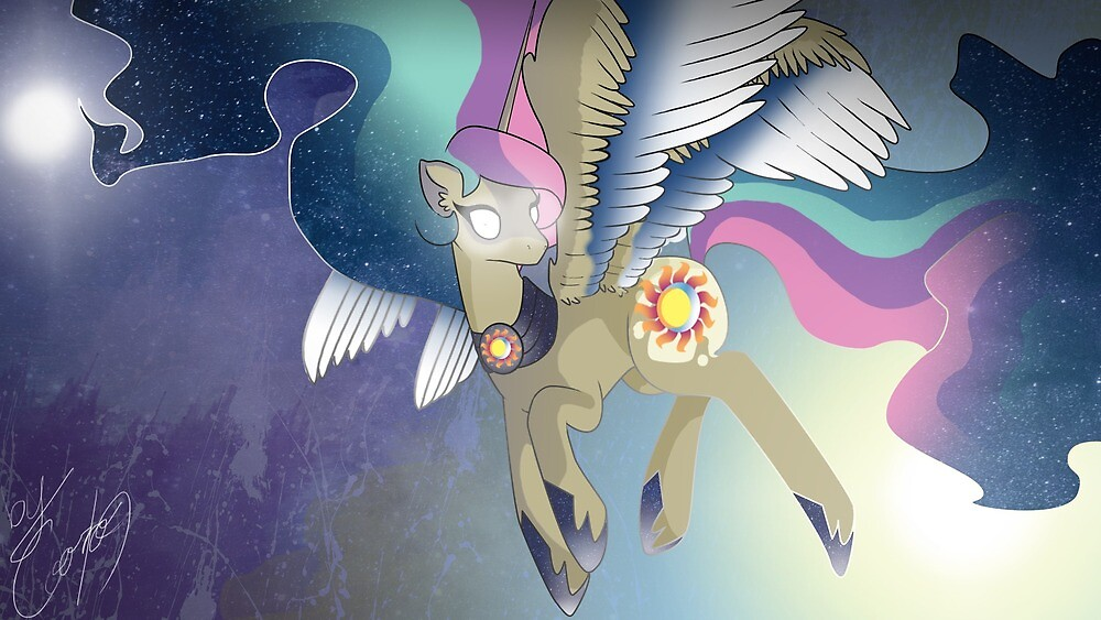 Eclipse a Celestia and Luna Fusion by cooro19