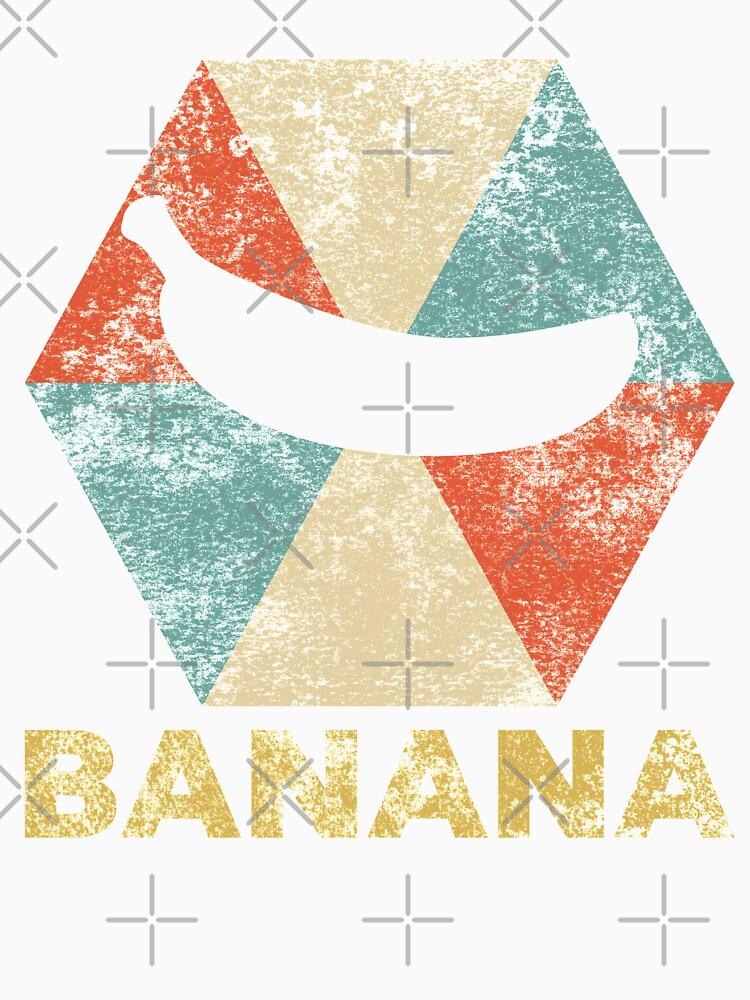 Vintage Polygon Banana by Distrill