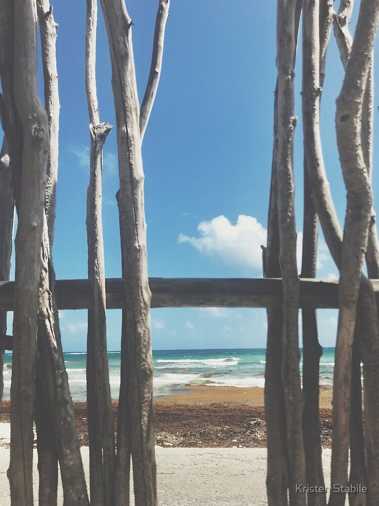 Caribbean Perspective in Tulum, Mexico by Kristen Stabile