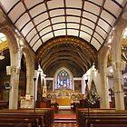 Holy Trinity Interior by lezvee