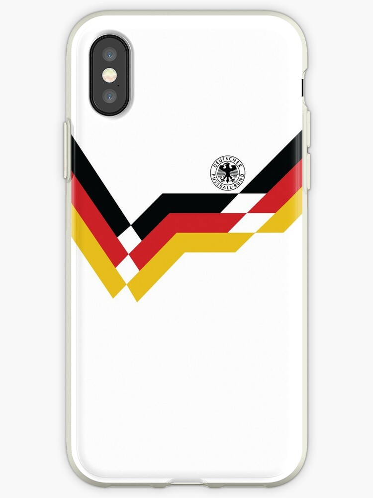 Germany Retro 1990 World Cup Kit Design by davidnugent