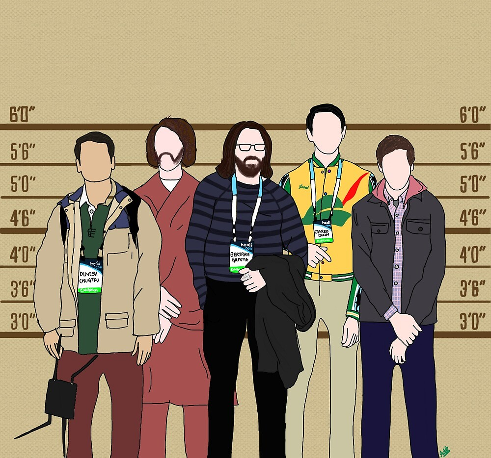 The Usual Suspects of Silicon Valley by jareddunns