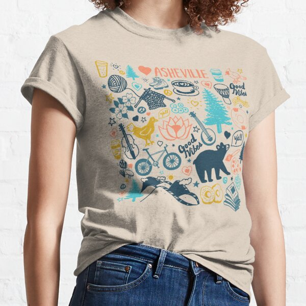 The Life in Asheville Classic T-Shirt