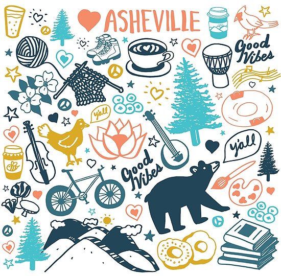 The Life in Asheville by Annie Riker