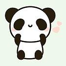 Cute panda by peppermintpopuk
