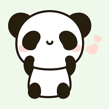 Cute panda by peppermintpopuk