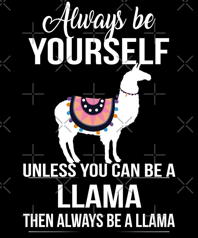 Funny Llama by edgyshop