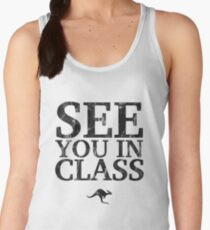 See You In Class (Black) Women's Tank Top
