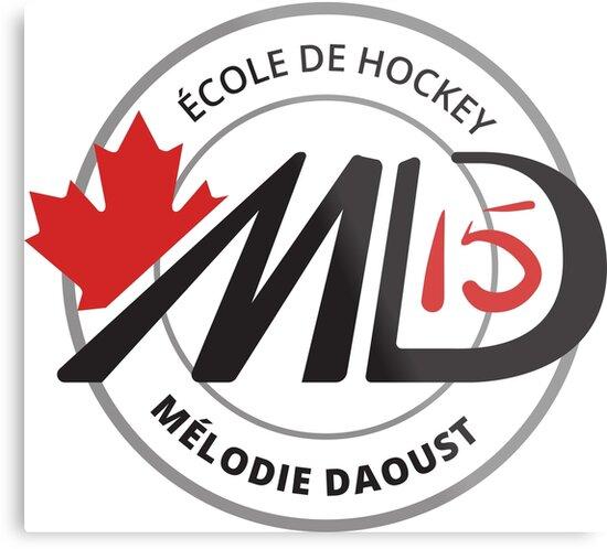 Melodie Black Logo Hockey School Apparel by Doylie31