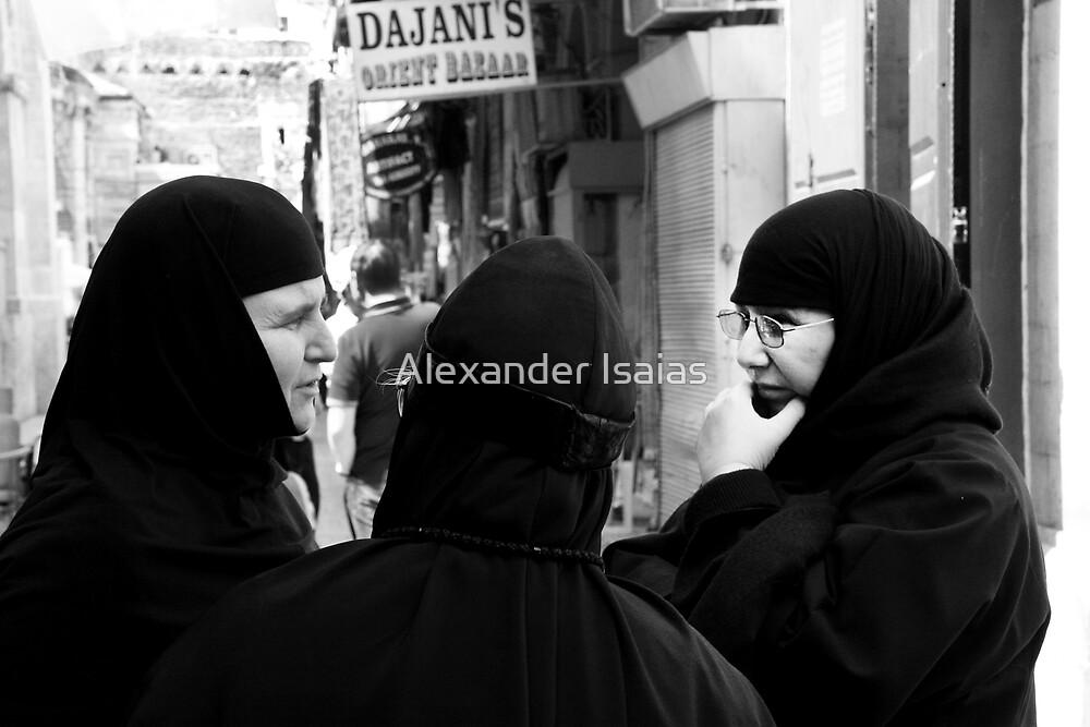"""Three Nuns Chatting"" by Alexander Isaias"