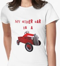 mY oTHER cAR iS a..... Women's Fitted T-Shirt