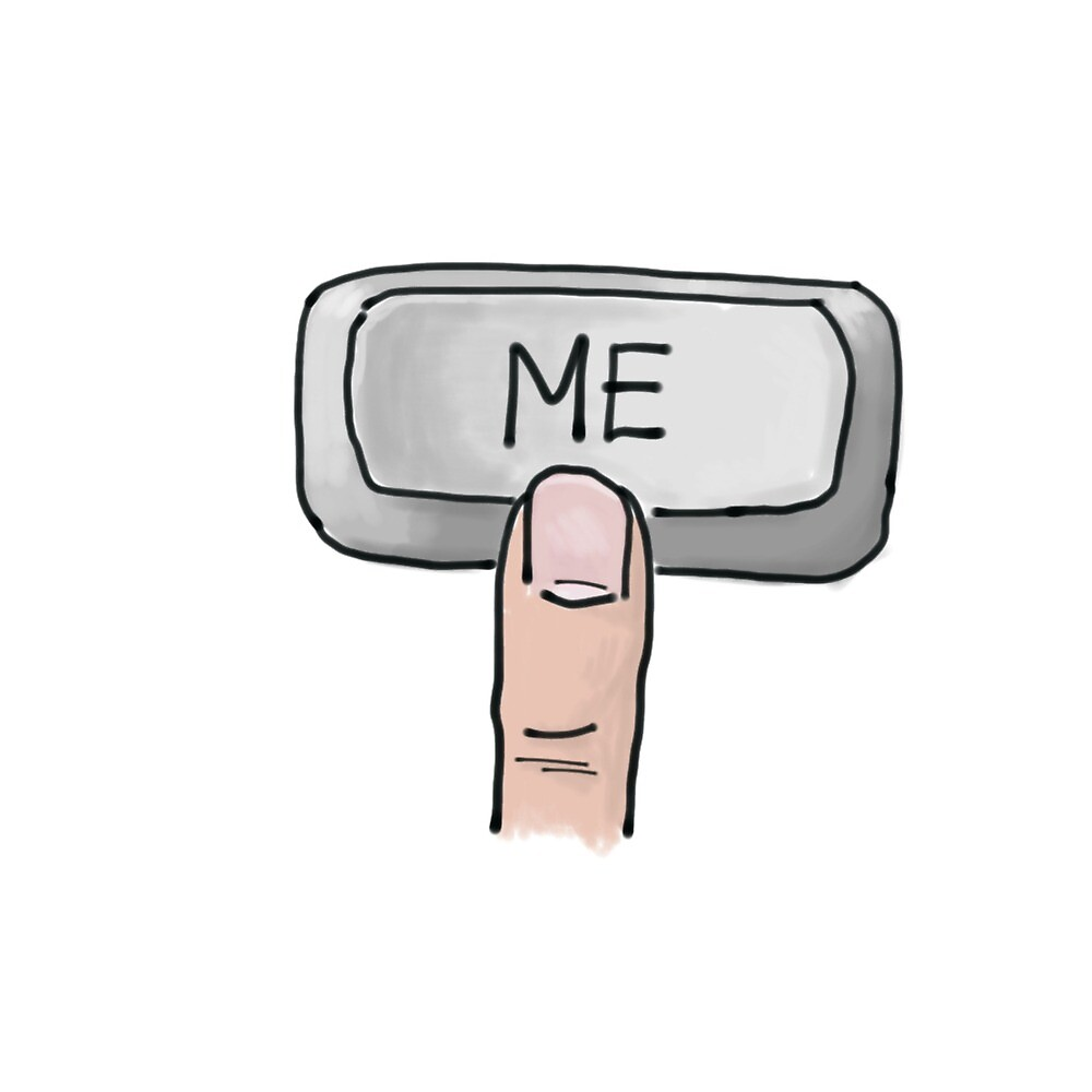 Me Keyboard Button by LucyTheRandle