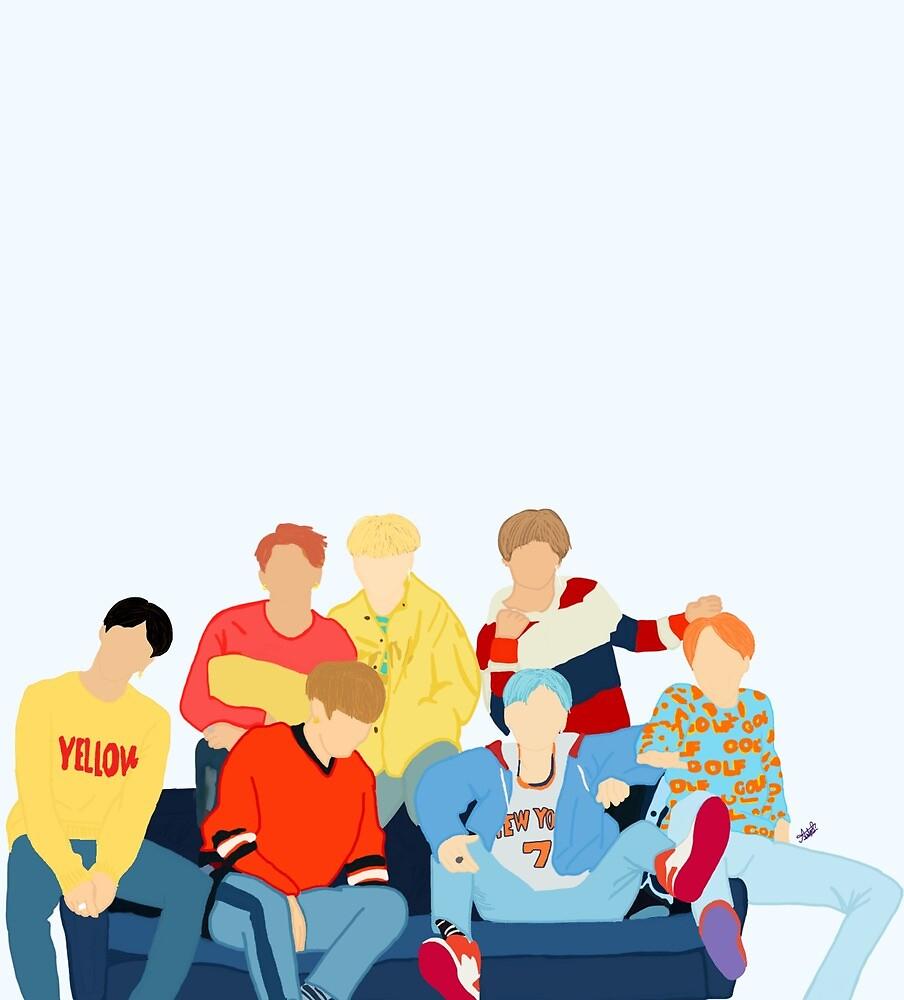 BTS in the DNA MV by jareddunns