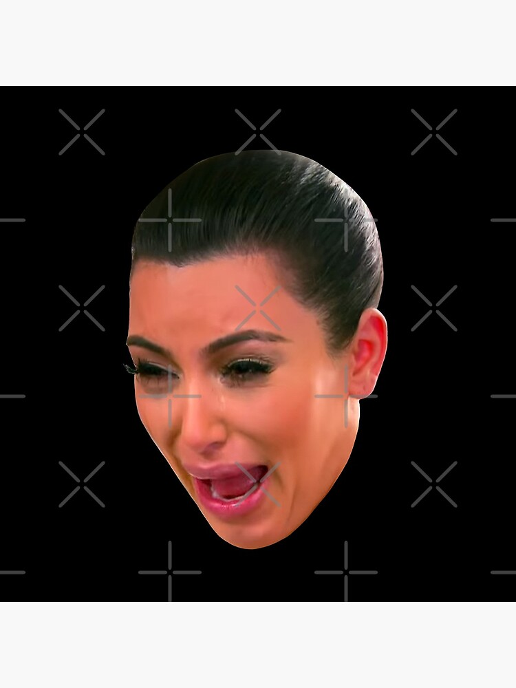 Crying Kim Kardashian by ValentinaHramov
