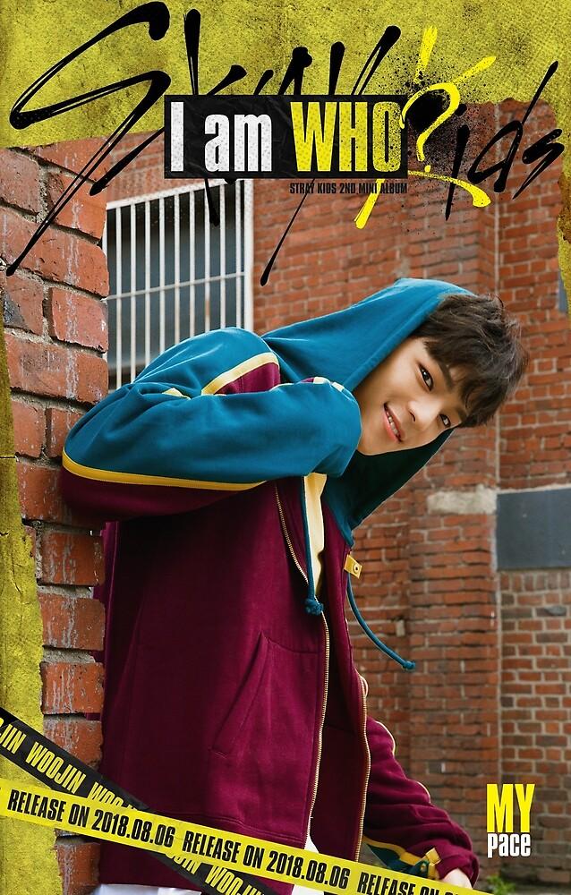 STRAY KIDS Woojin by pookipsy