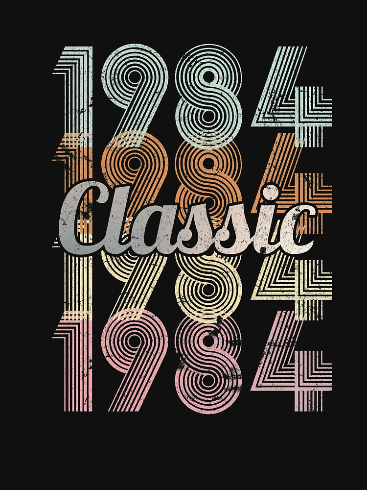 1984 Classic 35 years old birthday by hsco