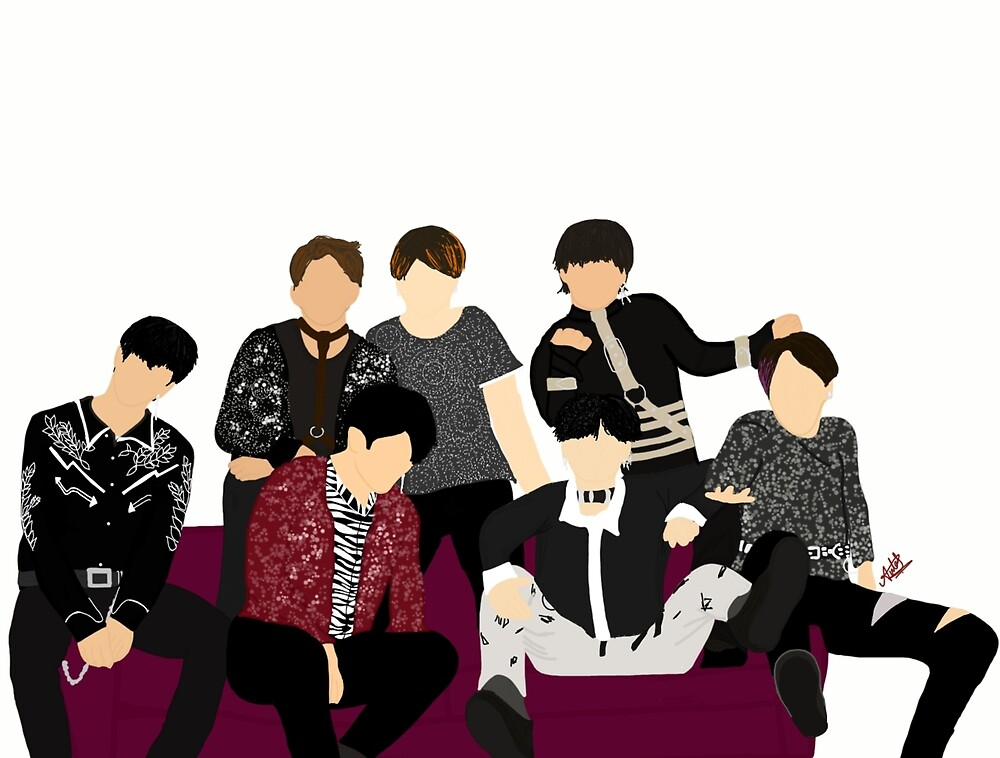 BTS in the DNA MV but it's Fake Love by jareddunns