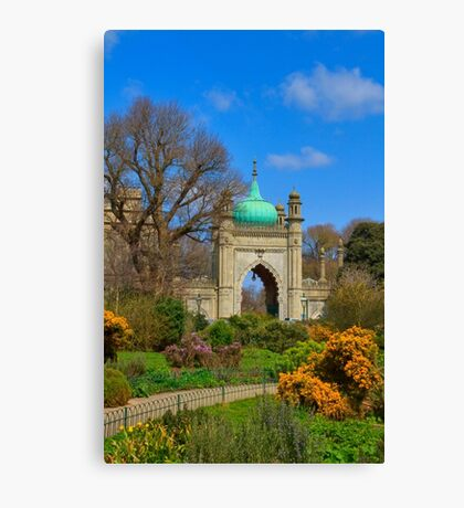 The Royal Pavilion - Brighton - England Canvas Print
