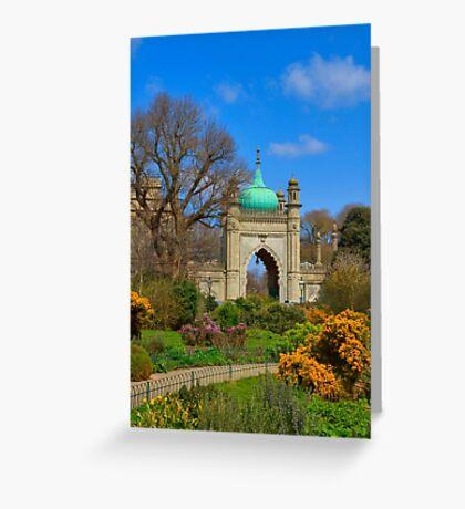 The Royal Pavilion - Brighton - England Greeting Card