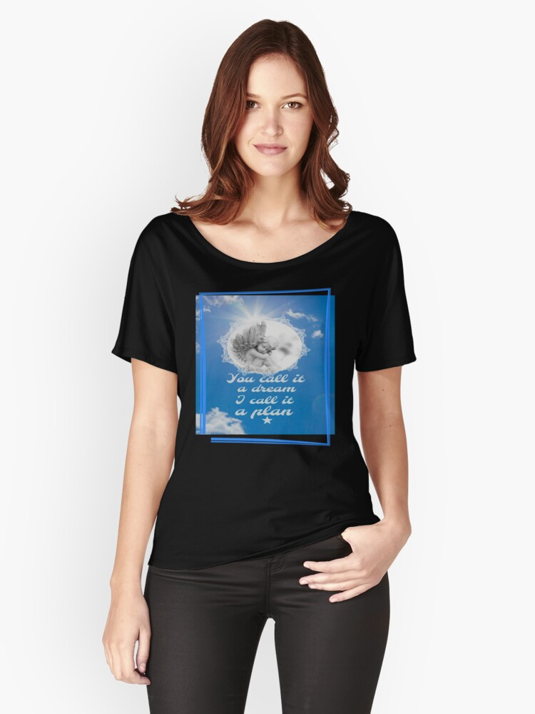 Make your dream a plan by Nikki Ellina Women's Relaxed Fit T-Shirt Front