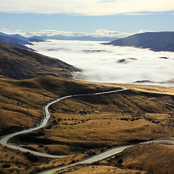 Road to Cardrona by charlesk
