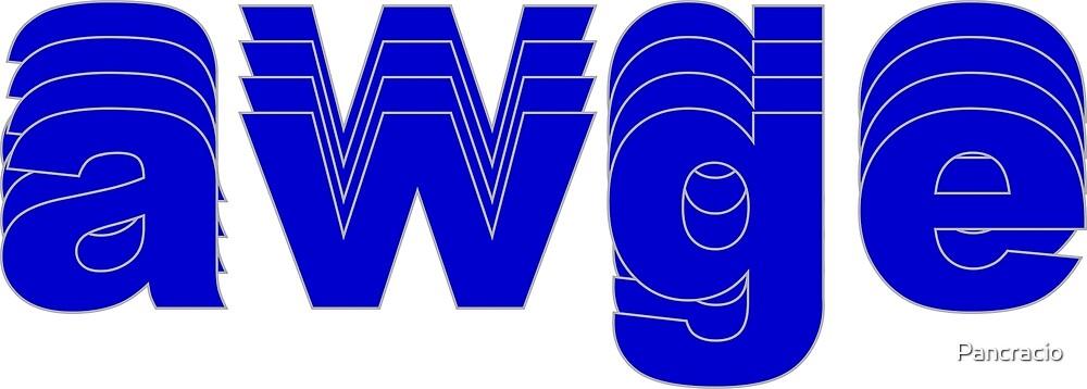 Awge Logo (A$AP Rocky) by Pancracio