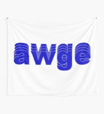Awge Logo (A$AP Rocky) Wall Tapestry