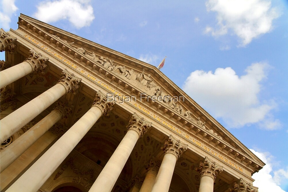 The Royal Exchange - London by Bryan Freeman