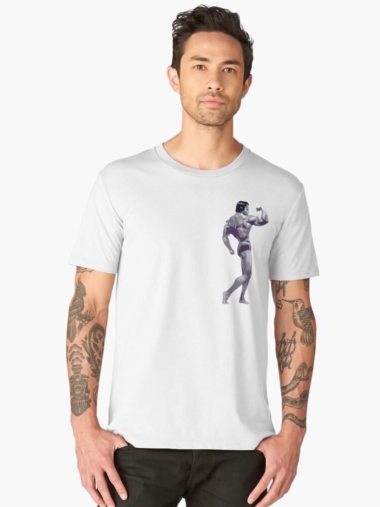 bodybuilding Men's Premium T-Shirt Front