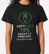 Uber Eats Tips Appreciated  Classic T-Shirt