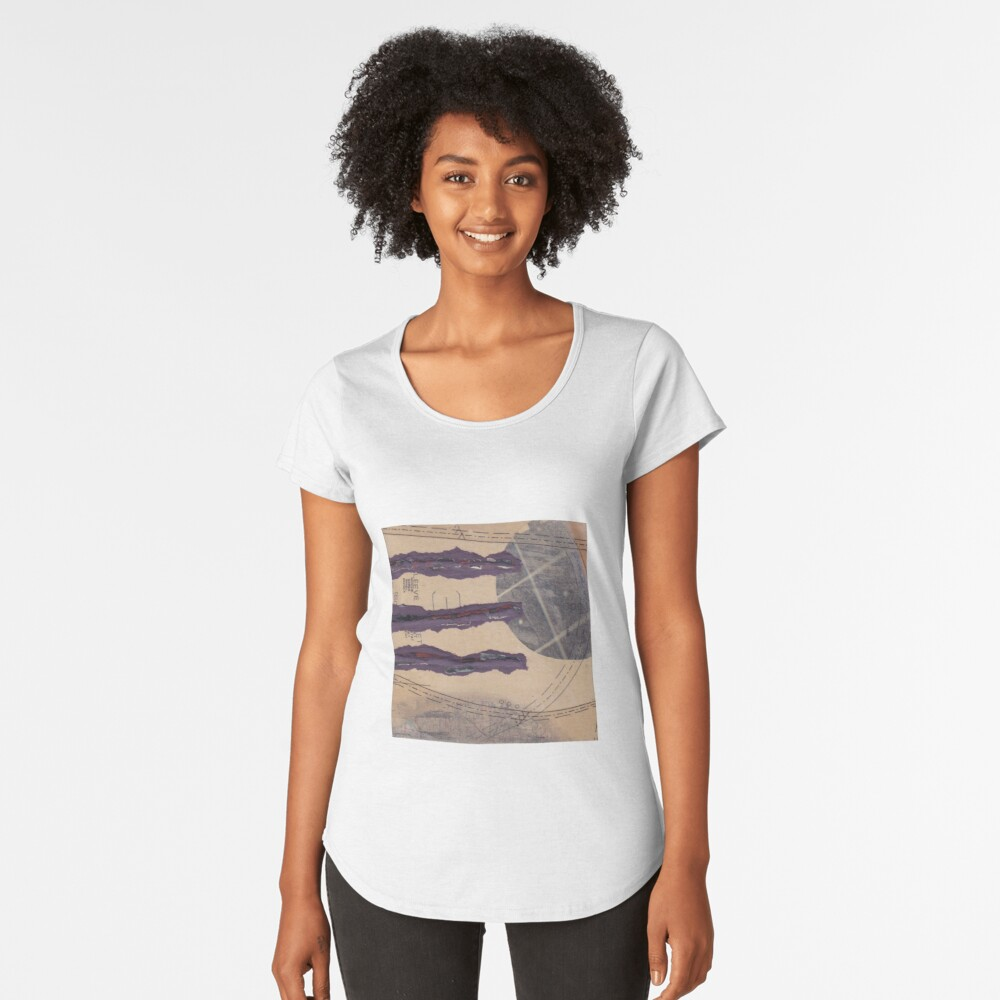 Three sleeves to the wind Women's Premium T-Shirt Front