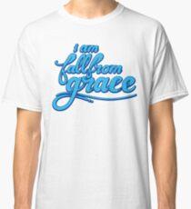 iamfallfromgrace - Text - Blue Classic T-Shirt