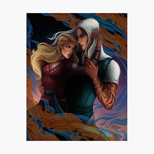 Aelin and Rowan Photographic Print