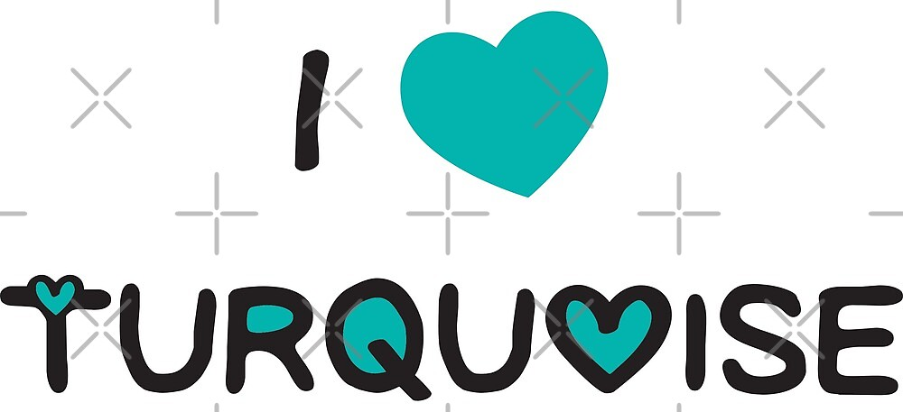 I love turquoise by bles-art