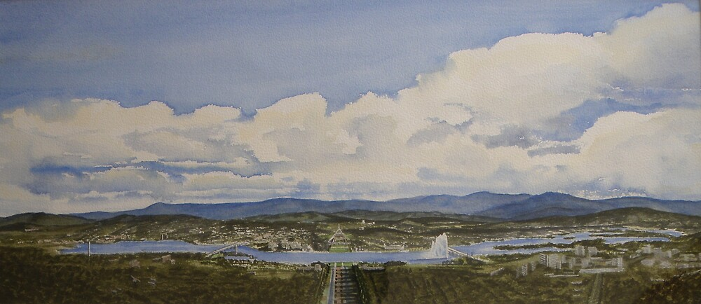 Canberra by juliesartspace