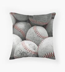 Vintage Baseballs Dekokissen