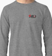 Melodie Daoust - MD15 Black Logo Apparel Lightweight Sweatshirt