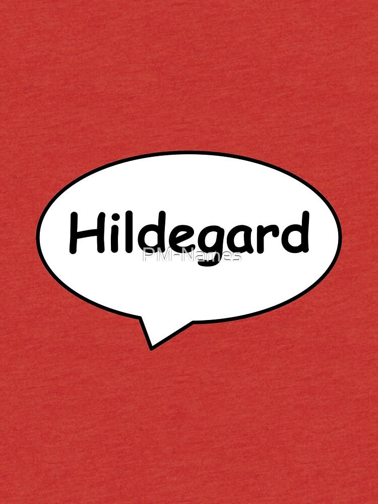 Balloon Name Hildegard by PM-Names
