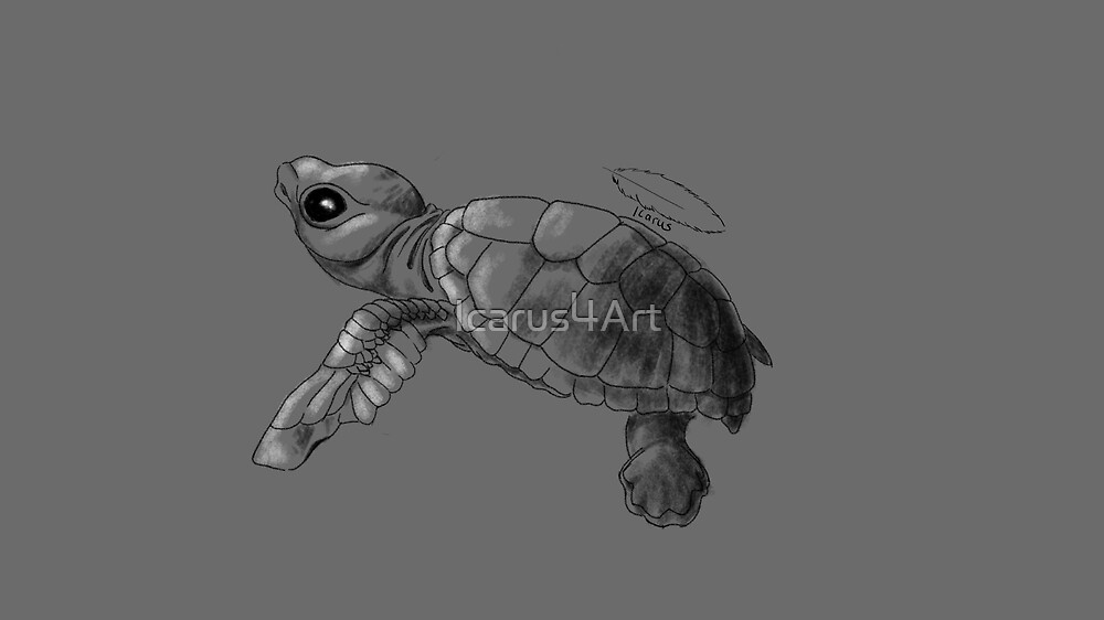Turtle Love by Icarus4Art
