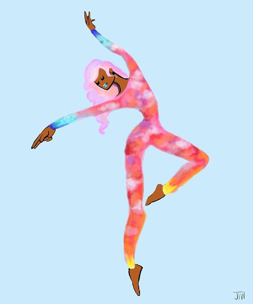 The Sky Dancer - Dawn by juliawidmaier