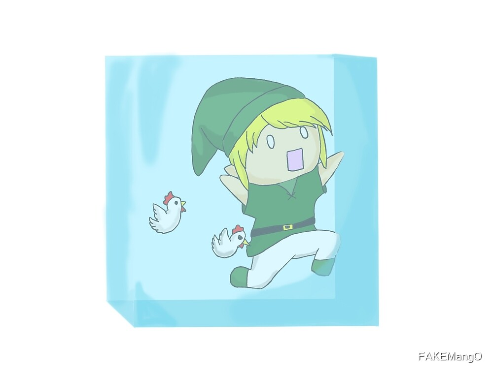 A Link Frozen in Time by FAKEMangO