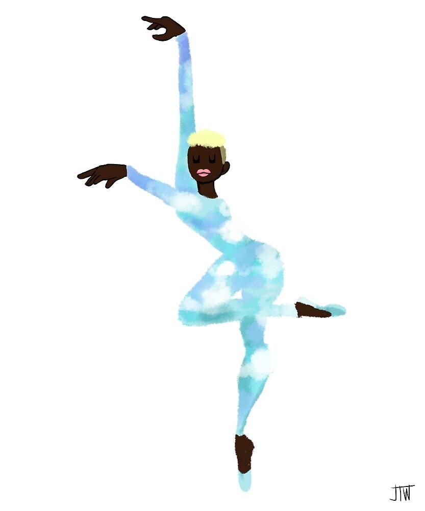 The Sky Dancer - Day by juliawidmaier