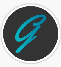 G Logo Sticker
