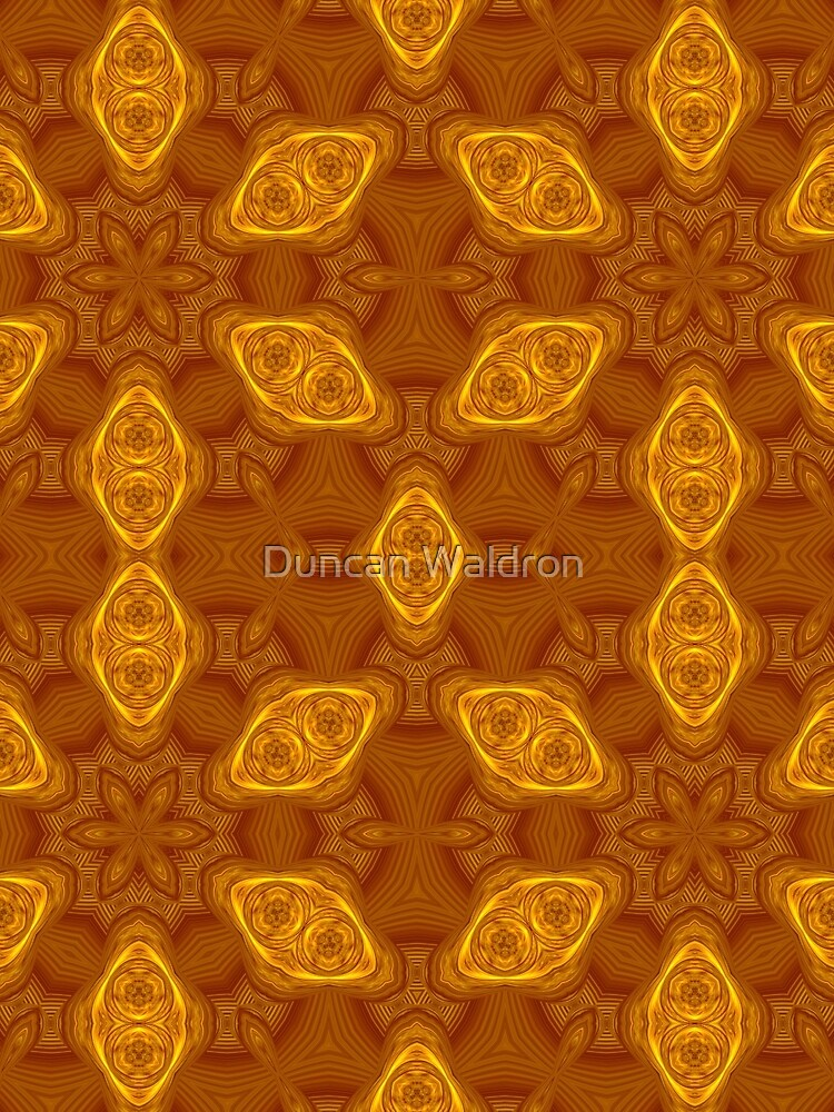 Water lily pads abstracted #2 by DuncanW