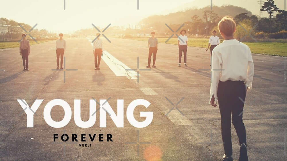 Young Forever BTS Artwork by ARMYxARIANA