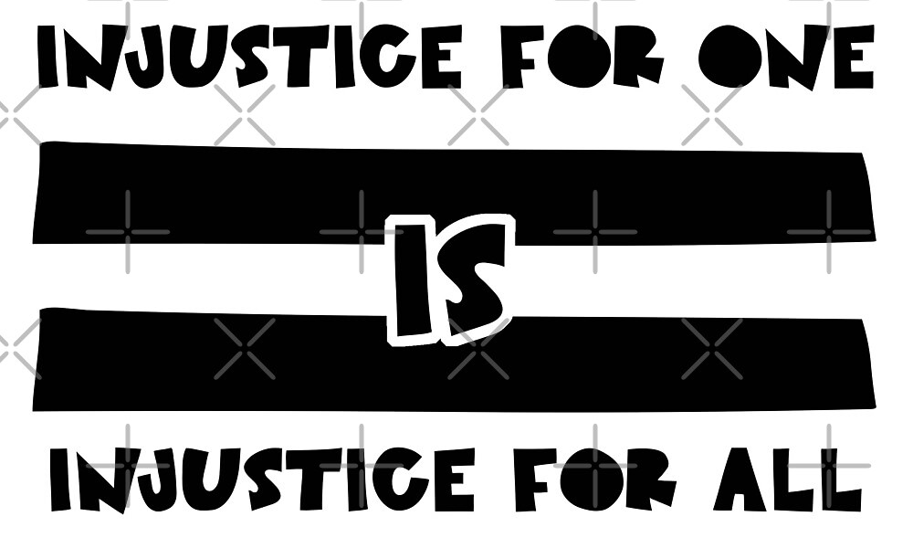 Injustice for one is injustice for all - LGBT by veganstickers