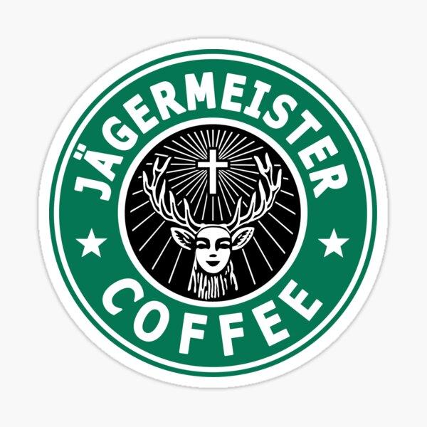 Jägermeister Coffee Pegatina