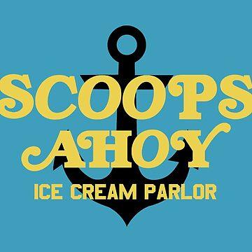 Scoops Ahoy Ice Cream Parlour (Starcourt Mall) by fandemonium